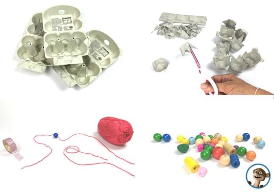 basteln mit kindern wir basteln mit eiern hhhh eierkartons. Black Bedroom Furniture Sets. Home Design Ideas