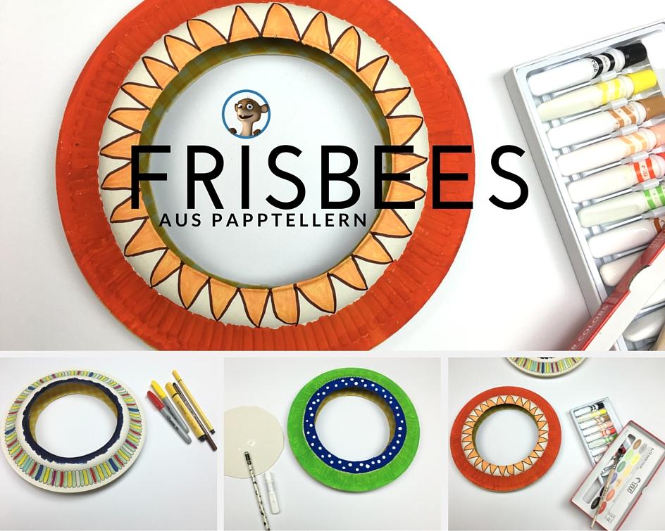 Basteln Mit Kindern Frisbees Aus Papptellern Selber Machen