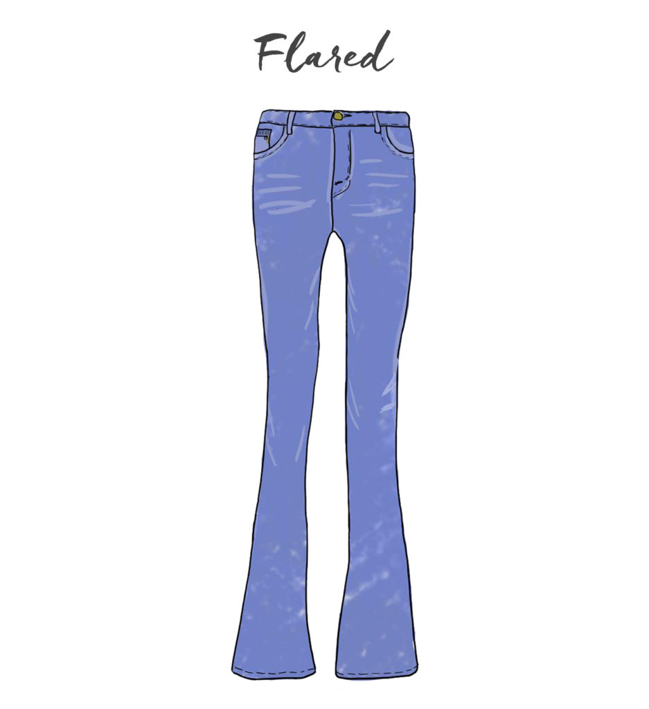 Jeans-Flared