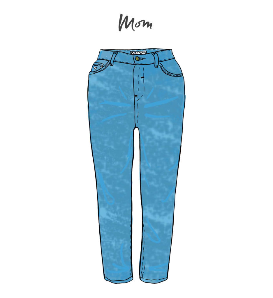 Jeans-Mom