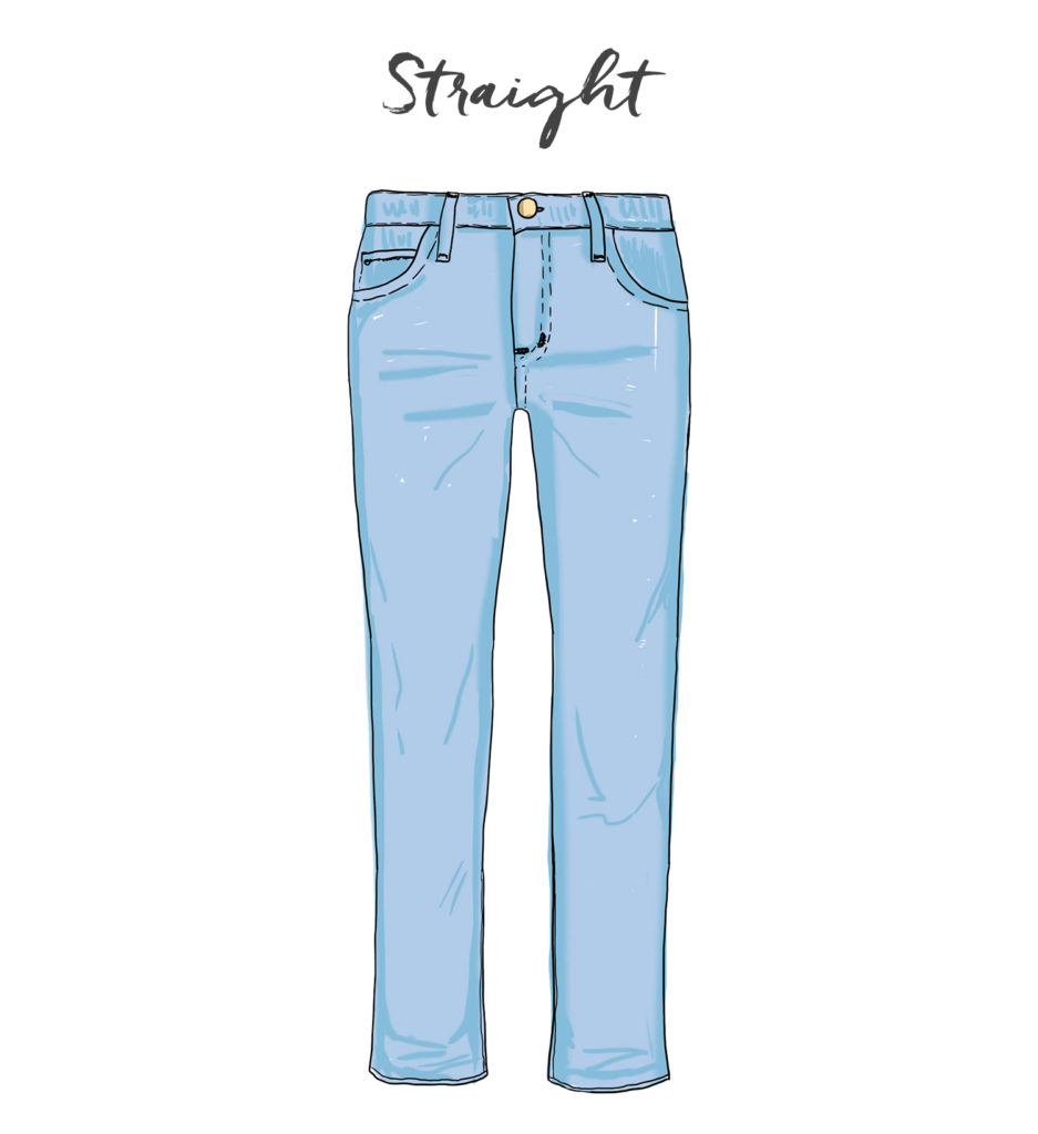 Jeans-Straight