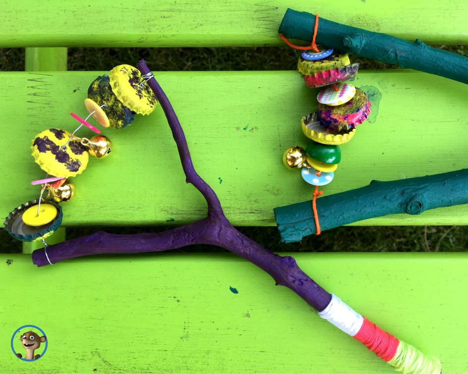 Musikinstrumente basteln: Meine selbstgemachte Rassel - limango Magazin