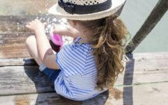 Sonnenschutz-Baby