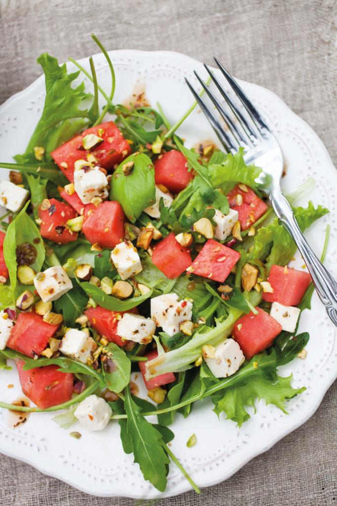 Melonensalat-Rezept-Sommer