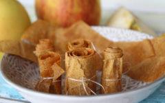 Fruchtleder selber machen mit Äpfeln